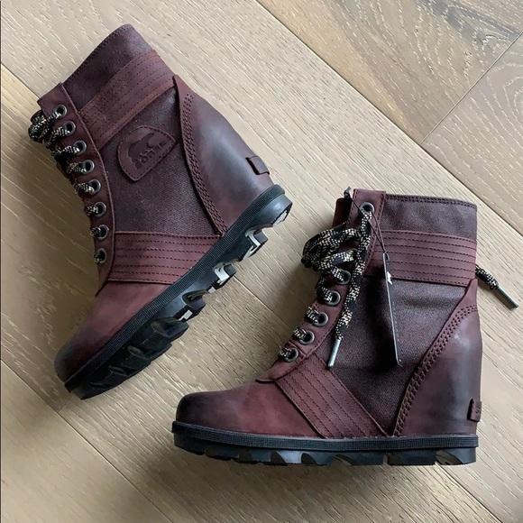 c49f6254fd8 BN Sorel Women s Lexie Wedge Boot